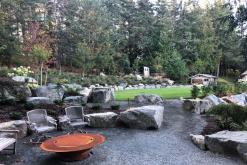 Landscape Lighting and Fire Features